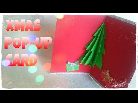 DIY - Cách làm thiệp Giáng sinh 3D - Thiệp Handmade