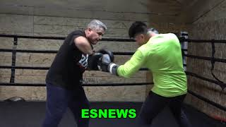Mikey Garcia Power At 147 Check Out Full Mitt Workout EsNews Boxing