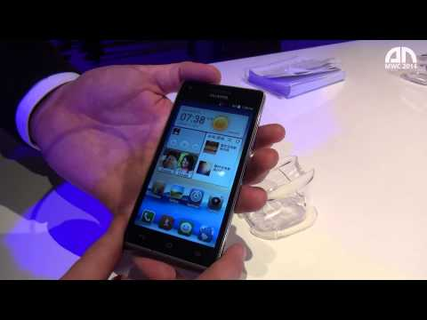 Huawei Ascend P7 mini & Ascend G6 - Hands On - MWC 2014 - androidnext.de