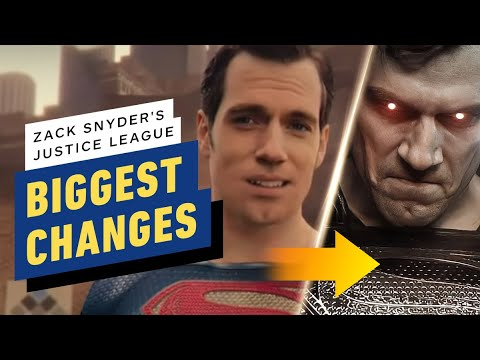 Justice League Snyder Cut: All the Differences from the Theater Version – IGN