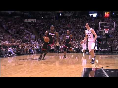 June 15, 2014 - ABC - 2014 NBA Finals Game 05 Miami Heat @ San Antonio Spurs - Loss (01-04)