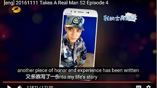 [eng] 20161111 Takes A Real Man S2 Episode 4/14