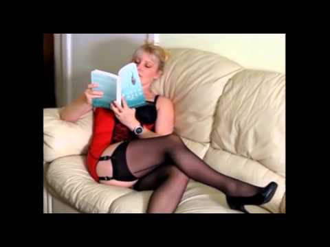 Vintageflash blonde in black vintage RHT nylons from YouTube · Duration:  2 minutes 1 seconds