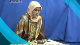 Tilawatil Qur'an Hj. Nur Asiah Amin Qoriah Internasional Part 2