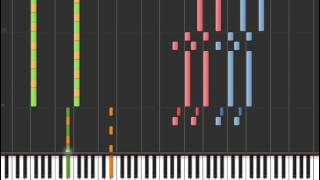Repeat youtube video Pokémon X/Y: Xerneas/Yveltal/Zygarde Battle Theme in Synthesia
