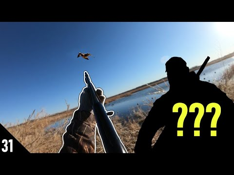 Hunting a TINY Pond for DUCKS! (SURPRISE GUEST) | 28 GAUGE Public Land Duck Hunting 2020
