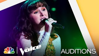 "Kaitlyn Myers' Bold Choice: Stevie Wonder's ""If You Really Love Me"" - The Voice Blind Auditions 2021"