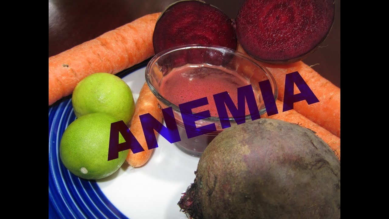 Eficaz receta contra la anemia youtube - Alimentos que contengan hierro para embarazadas ...