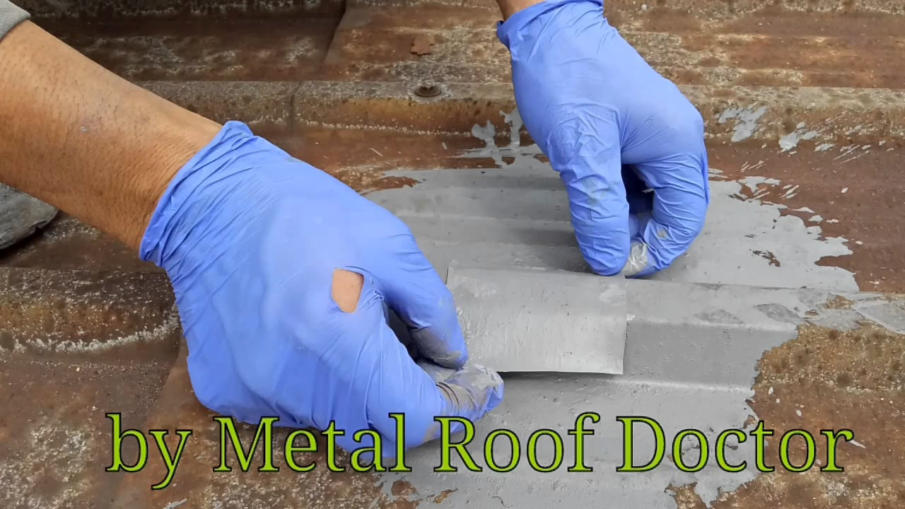 Metal Roof Repair Service Malaysia Patch Leaking Holes