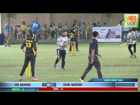 pan warriors vs viking worriors United Cricket Bash 2017 Live