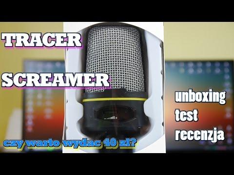 Tracer Screamer - mikrofon za 40zł - czy warto? Test Recenzja Unboxing.