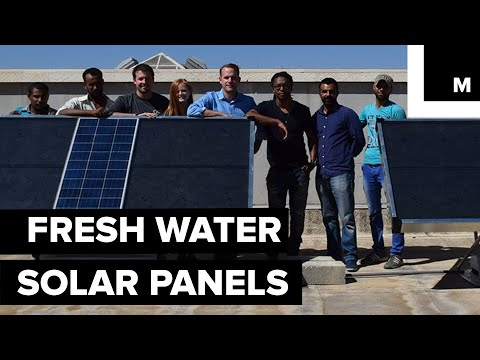 Fresh water solar panels