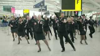British Airways staff #DoTheStrictly
