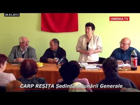 CARP RESITA Sedinta Adunarii Generale din 28.03.2013