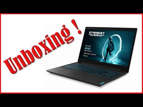 Unboxing Lenovo Ideapad L340 i5 Gaming Laptop for use as Video Editing and 3D Modeling Review