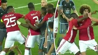 Eric Bailly Fight vs Celta Vigo