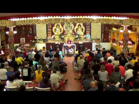 Garchen Rinpoche   040217   Ngondro Lung Tibetan, English &