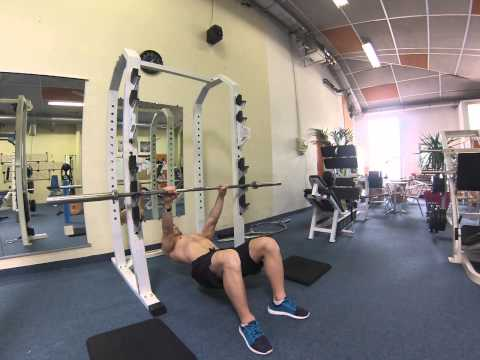 David Costa - Fitness Model - Traction couchée pronation