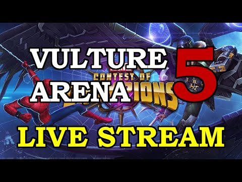 Vulture Arena - Part 5 | Marvel Contest of Champions Live Stream