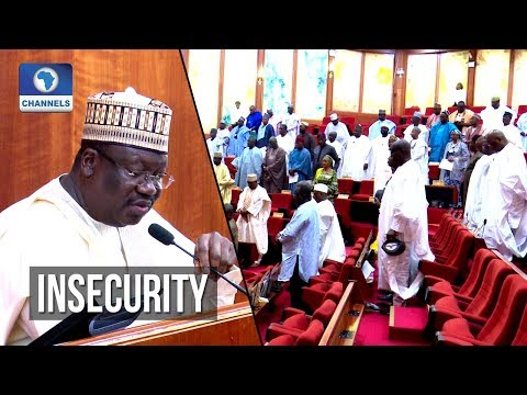 Senate President Proposes Summit To Address Security Challenges