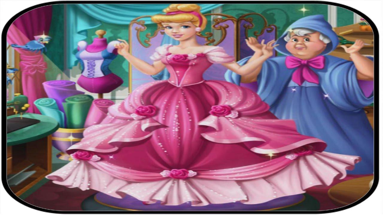 Disney Princess Cinderella Ball Dress Tailor Hd