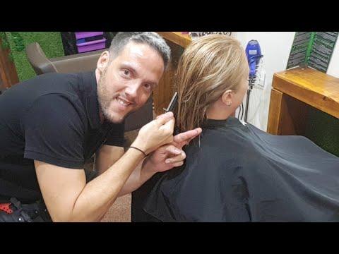 Corte de cabello melena corta desfilada youtube - Corte de melena corta ...