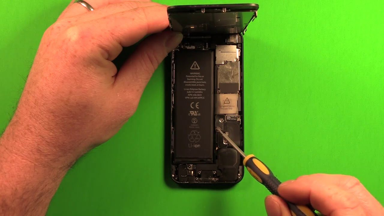 how to change iphone 5 battery color