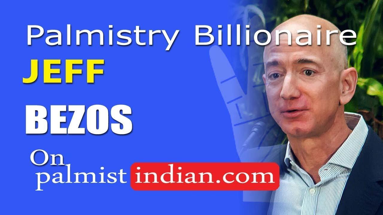 Hand Reading Of Jeff Bezos Richest Man Billionaire Palmistry Palm