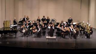 "Ashley High School Concert Band performing  "" Novo Lenio """