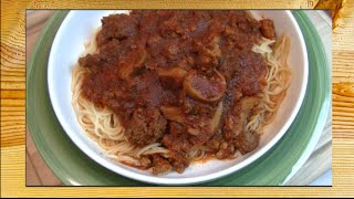 Rick Cooks!  Irish Spaghetti Recipe ~ Rick's Tips Diy