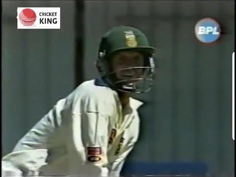 Gary Kirsten & Herschelle Gibbs 189 runs 1st Wic stand against India 1st Test Bloemfontein 2001