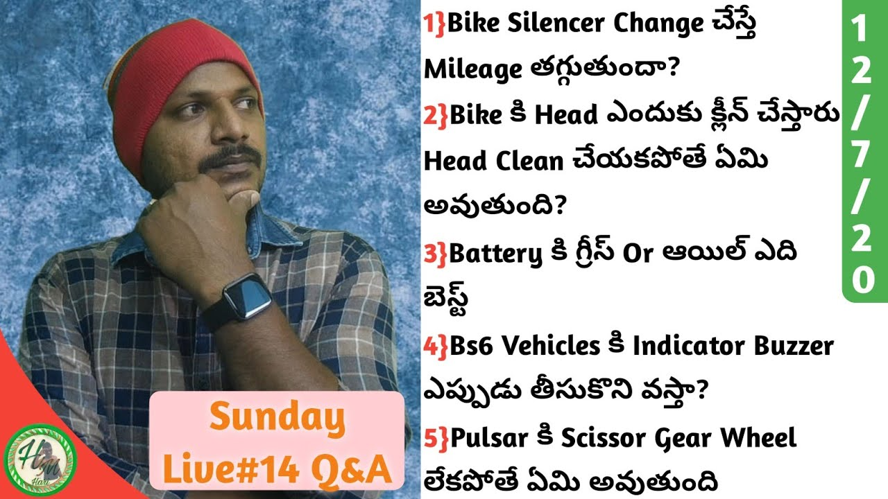 Sunday Live#14 Bike Q&A Harimec