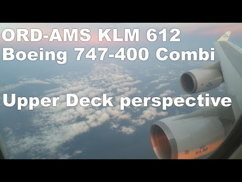 Upper Deck Boeing 747-400 - A KLM Business Class experience - KL 612 ORD-AMS - 2/2 thumbnail