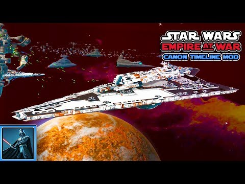 "Endlich Supersternenzerstörer! - Lets Play Star Wars Empire at War ""The Canon Timeline Mod"" - Teil 3"