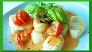 Ricotta Gnocchi Mit Geschmolzenen Tomaten Rezept