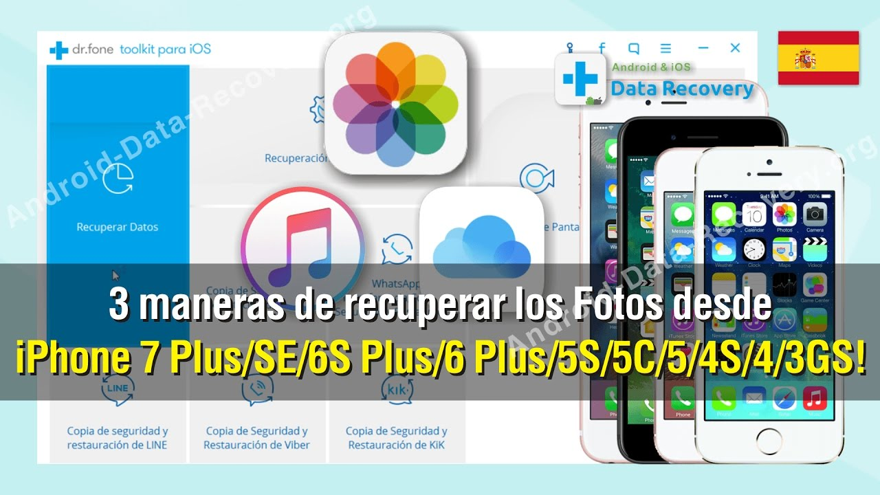 PROGRAMA PARA RECUPERAR FOTOS BORRADAS IPHONE 6