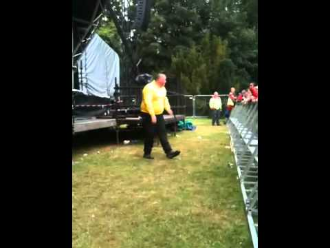 Dancing door steward & Dancing door steward - YouTube