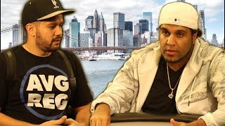 NY Poker King & Ryan Fee Collide In Three Sick Hands ♠ Live at the Bike!