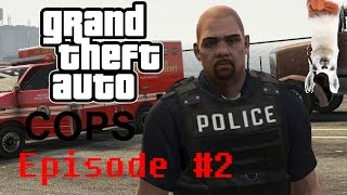 Officer Down (GTA V POLICE MOD)