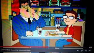 American Dad Burger King