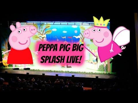 Peppa Pig Big Splash Live! 2016