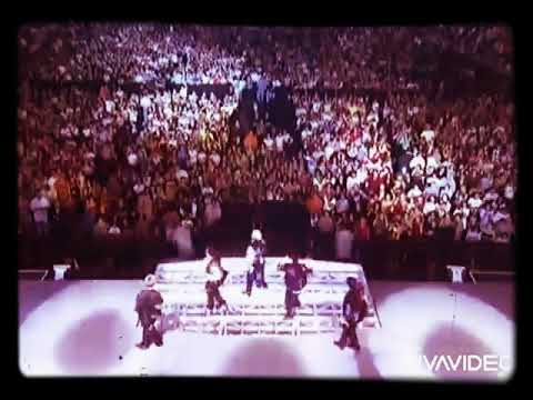 N'sync - I Want You Back Live Madison Square Garden Version Studio