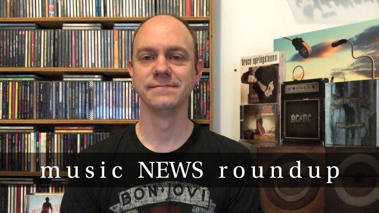 Music News Roundup - AC/DC, Bon Jovi, Bruce Springsteen, Anthrax, & More