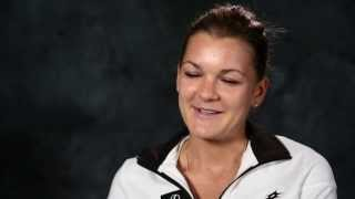 Australian Open: Interview with Aga Radwanska - 2014 Australian Open