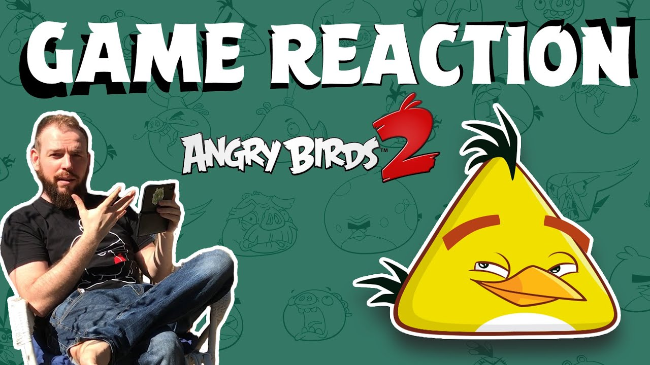 Angry Birds Game Reaction WILD EDITION | Lex vs Angry Birds 2
