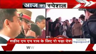 Daughter pays tribute braveheart Colonel MN Rai