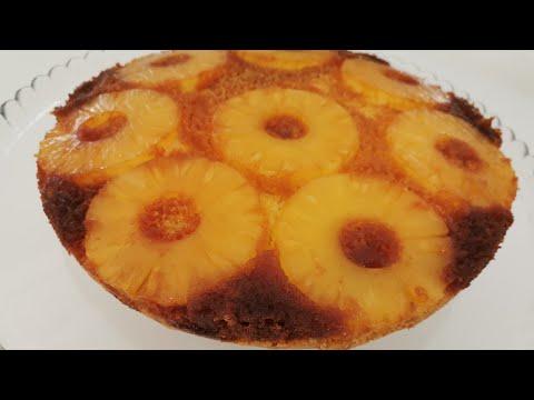 gÂteau-renversÉ-À-l'-ananas-recette-facile-et-rapide