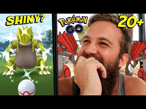 20+ GROUDON SHINY CHECKS (WHAT DID I GET?) - POKEMON GO LEGENDARY RAIDS 2019 thumbnail