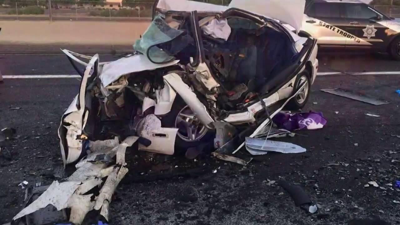 Wrong-way driver crash kills 3 on I-17 in Phoenix