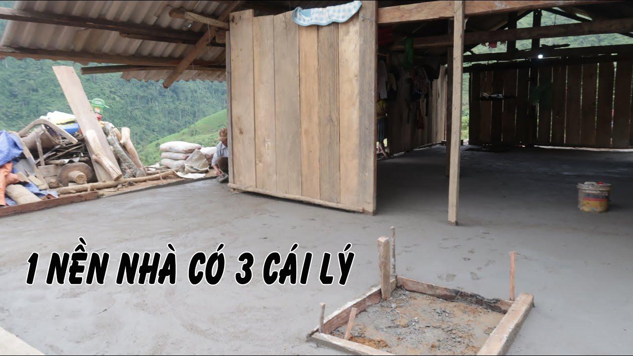 Một ngày láng xong nền lợp bếp cho nhà A Thò | Sửa nhà cho Vàng A Thò ( T - 3 )